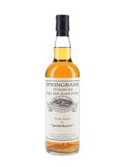 Springbank 1996 15 Year Old Special Reserve Cask 477