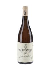Comtes Lafon Meursault 1991