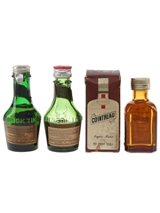 Benedictine & Cointreau Bottled 1960s-1970s 3 x 3cl