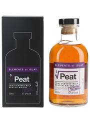 Elements of Islay Peat Cube Root Elixir Distillers - La Maison Du Whisky 50cl / 57.9%