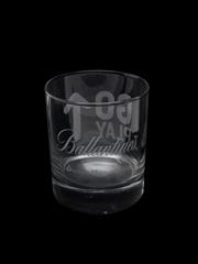 Ballantine's Whisky Tumblers  8cm-9cm Tall