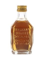 Stewart's Cream Of The Barley De Luxe Bottled 1960s-1970s 5cl/ 40%