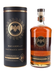 Bacardi 16 Year Old Gran Reserva Especial Youngest Rum Barreled In 2003 - Travel Retail 100cl / 40%