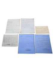 Matthew Clark & Sons Correspondence, Dated 1846-1909