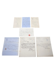 Assorted Champagne Correspondence, Dated 1859-1907