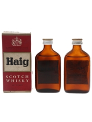 Haig Gold Label Bottled 1960s-1970s 2 x 5cl / 40%