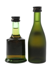 Prince Hubert De Polignac & Remy Martin Bottled 1970s & 1980s 2 x 4.2cl-5cl / 40%