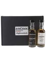 AnCnoc 12 Year Old & Peated Heart Press Samples 2 x 5cl