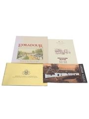 Assorted Whisky Pamphlets & Brochures