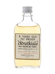 Strathisla 8 Year Old 70 Proof Bottled 1970s - Gordon & MacPhail 5cl / 40%