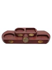 The Heritage Selection Whisky Display Stand Benriach, Glen Keith, Longmorn, Strathisla 44cm x 18cm x 6cm