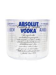Absolut Vodka Ice Bucket