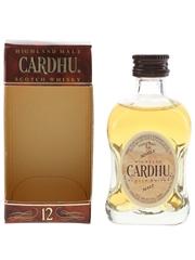 Cardhu 12 Year Old Bottled 1990s - Schieffelin & Somerset 5cl / 40%