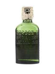 Gordon's Special Dry London Gin Spring Cap Bottled 1950s 5cl / 40%