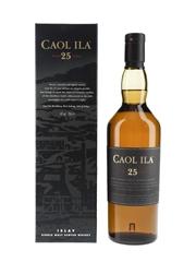 Caol Ila 25 Year Old  70cl / 43%