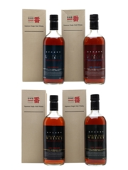 Karuizawa Cask Strength Collection - Releases 1-4