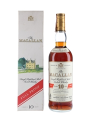 Macallan 10 Year Old Full Proof