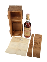 Macallan 1957 Handwritten Label Bottled 1982 - Rinaldi 25th Anniversary 75cl / 43%