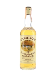 Glenallachie Glenlivet 1969 12 Year Old Bottled 1980s - D&C 75cl / 40%