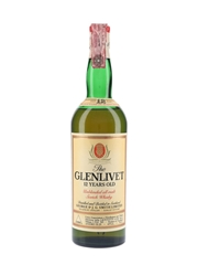 Glenlivet 12 Year Old Bottled 1970s - Giovinetti 75cl / 43%