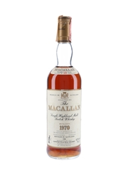 Macallan 1970 18 Year Old Bottled 1988 - Giovinetti 75cl / 43%