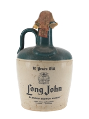 Long John 12 Year Old Ceramic Jug Bottled 1970s 75cl / 43%
