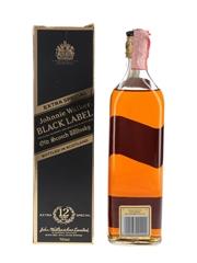 Johnnie Walker Black Label 12 Year Old Bottled 1990s - Wax & Vitale 70cl / 40%
