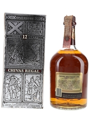 Chivas Regal 12 Year Old Bottled 1980s - Seagram Italia 100cl / 43%