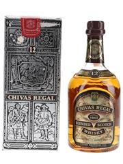 Chivas Regal 12 Year Old Bottled 1990s - Seagram Italia 70cl / 40%