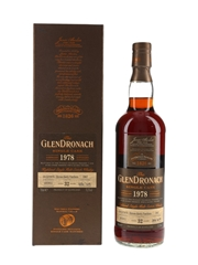 Glendronach 1978 32 Year Old Oloroso Sherry Puncheon