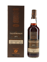 Glendronach 1971 39 Year Old Oloroso Sherry Butt