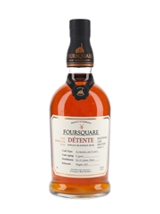 Foursquare Detente 10 Year Old Single Blended Rum Bottled 2020 - Exceptional Cask Selection Mark XIV 70cl / 51%