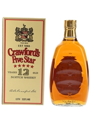 Crawford's Five Star 12 Year Old Bottled 1980s 75cl / 40%