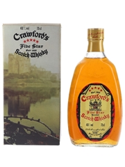 Crawford's Five Star Bottled 1980s 75cl / 40%