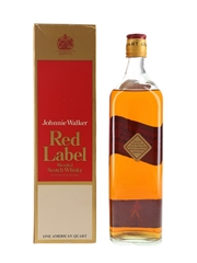 Johnnie Walker Red Label Bottled 1970s 94.6cl
