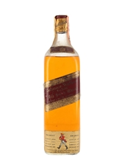 Johnnie Walker Red Label Bottled 1950s-1960s - Wax & Vitale 75cl / 43%