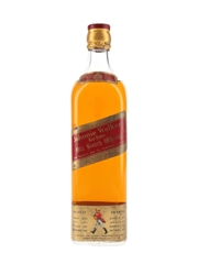 Johnnie Walker Red Label Bottled 1968 - Breuval & Cie 75cl / 43%