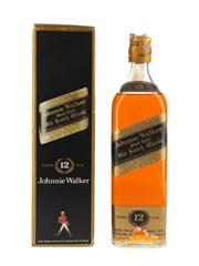 Johnnie Walker Black Label 12 Year Old