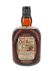 Grand Old Parr De Luxe Spring Cap Bottled 1960s 75.7cl / 40%