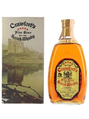 Crawford's Five Star 12 Year Old Bottled 1970s - Ferraretto 75cl / 40%