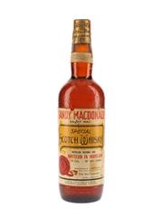 Sandy MacDonald Special Spring Cap Bottled 1960s - Paparone 75cl / 43%
