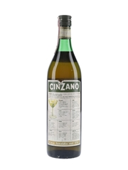 Cinzano Extra Dry Bottled 1960s 100cl / 18.5%