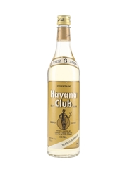 Havana Club 3 Year Old Blanco Superior Bottled 1980s 75cl / 40%