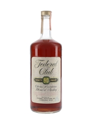 Federal Club 90 Proof Bottled 1970s 118cl / 45%