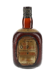 Grand Old Parr Spring Cap Bottled 1950s 75cl / 40%