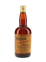Hopkins' Navy Supreme Bottled 1970s - Oban Distillery 75.7cl / 40%