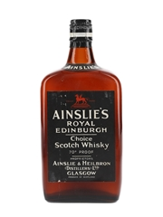 Ainslie's Royal Edinburgh Spring Cap Bottled 1950s 75cl / 40%