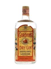Gordon's Dry Gin Spring Cap Bottled 1950s - Romolo Salvigni 75cl / 47.3%