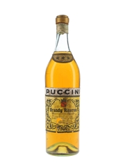 Puccini 3 Star Bandy Riserva Bottled 1950s-1960s 100cl / 42%