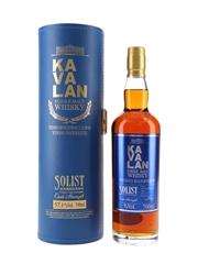 Kavalan Solist Vinho Barrique Distilled 2012, Bottled 2017 70cl / 57.1%